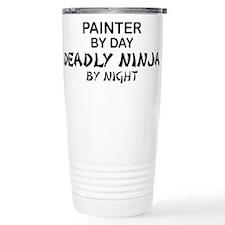 Painter Deadly Ninja Travel Mug