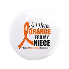 """Kidney Cancer 3.5"""" Button"""