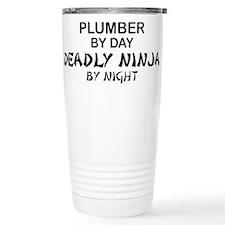Plumber Deadly Ninja Travel Mug