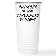 Plumber Day Superhero Night Travel Mug