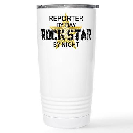 Reporter Rock Star Stainless Steel Travel Mug