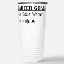 Social Worker Career Goals Stainless Steel Travel