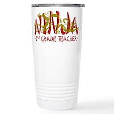 Dragon Ninja 3rd Grade Tcher Travel Mug