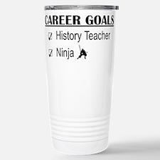 History Tchr Career Goals Travel Mug