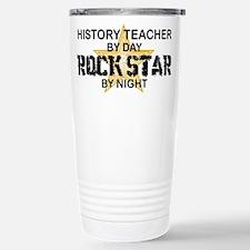 History Teacher Rock Star Travel Mug