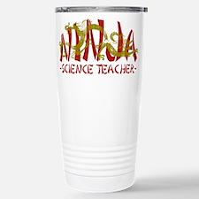 Dragon Ninja Science Teacher Travel Mug