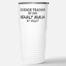 Science Teacher Deadly Ninja Travel Mug