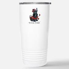 Celtic Scottish Terrier Stainless Steel Travel Mug