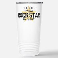 Teacher RockStar by Night Travel Mug