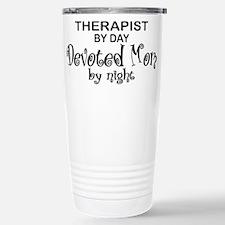 Therapist Devoted Mom Travel Mug