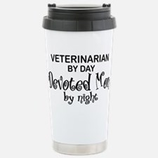 Vet Devoted Mom Stainless Steel Travel Mug