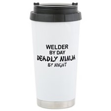 Welder Deadly Ninja Travel Mug