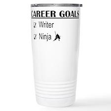 Writer Career Goals Travel Mug