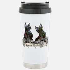 Lilac Scottish Terriers Travel Mug