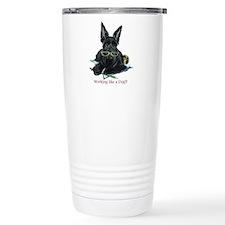 Working Scottie Travel Coffee Mug