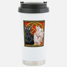Scottish Terriers Wheaten Cel Travel Mug
