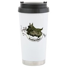 Spectacular Scottish Terrier Ceramic Travel Mug