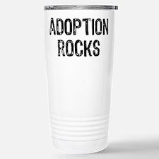Adoption Rocks Stainless Steel Travel Mug