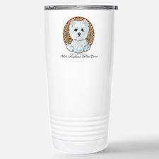 Westie Medallion Terrier Travel Mug