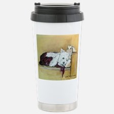 Westie and Bunny Stainless Steel Travel Mug