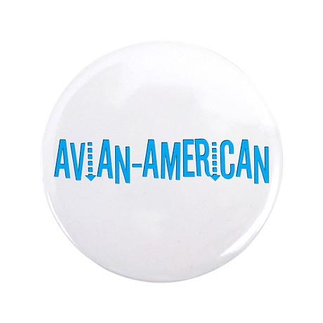 "Avian American 3.5"" Button"