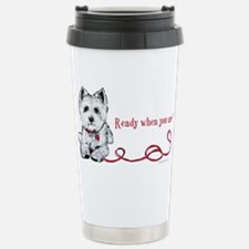 Westhighland White Terrier Re Travel Mug