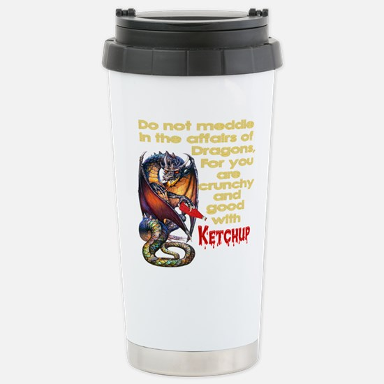 Dragons Stainless Steel Travel Mug