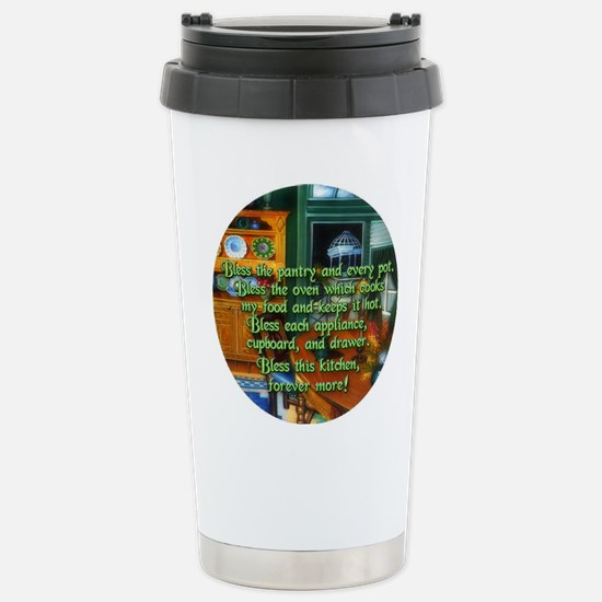 Wicca Kitchen Blessing Stainless Steel Travel Mug