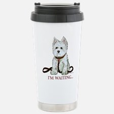Westie Walks Travel Mug