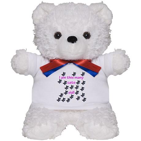 21 Cats Old! Teddy Bear