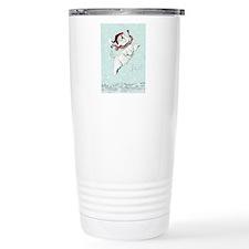 Westie Winter Terrier Travel Mug