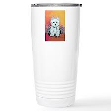 West Highland White Portrait Travel Mug