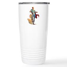 Sci-Fi Hero Travel Coffee Mug