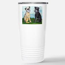 Brussels Griffon Best Friends Travel Mug