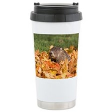Groundhog Thermos Mug