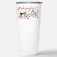 Fox Terrier Holiday Travel Mug