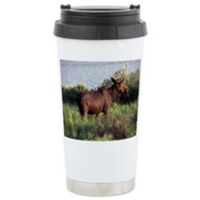 Moose Travel Coffee Mug