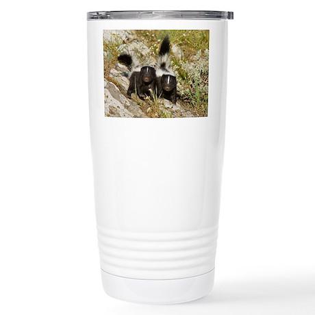 Skunk Stainless Steel Travel Mug