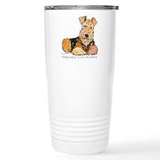 Airedale Happiness Travel Mug
