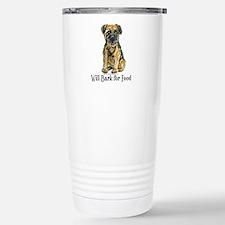 Border Terrier Bark Travel Mug