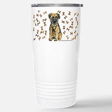 Border Terrier Bone! Stainless Steel Travel Mug