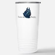 Bouvier des Flandres Black Travel Mug