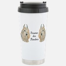 Bouvier des Flandres Stainless Steel Travel Mug