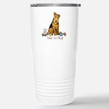 Welsh Terrier Playtime! Travel Mug