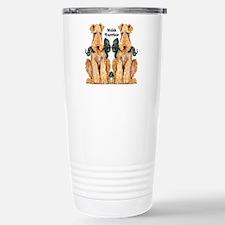 Welsh Terrier Stainless Steel Travel Mug