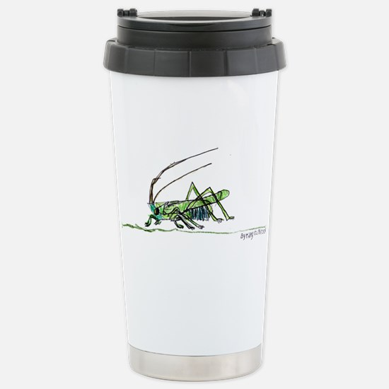 Grasshoppers and Spiders Stainless Steel Travel Mu