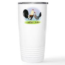 Grey Gamefowl Travel Mug