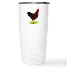 Rhode Island Red Rooster Travel Mug