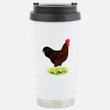 Rhode Island Red Rooster Travel Mug