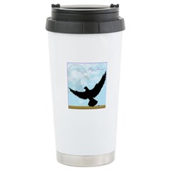 Pigeon Fly Home Stainless Steel Travel Mug